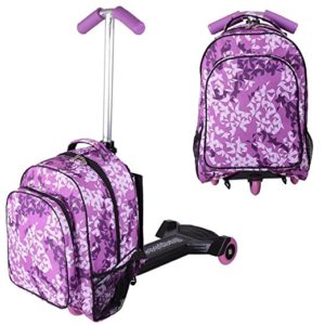 Purple Scooter Luggage
