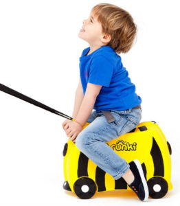 Trunki ride on bag